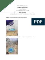 Imágenes Laboratorio No 3 de compuestos de coordinación