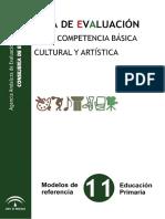 Guia Evaluacion Cultural y Artistica Primaria
