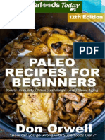 Paleo Recipes for Beginners 260 Recipes of Quick Easy Cooking