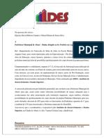 Oficio IDES - Abaré