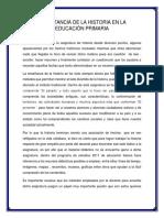 IMPORTANCIA DE LA HISTORIA EN LA EDUCACIÓN PRIMARIA.docx