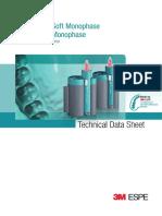 3m Espe Soft Monophase Technical Data Sheet Int