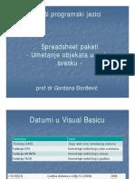 5. VPJ - Spreadsheet Paketi - Umetanje Objekata u Radnu Svesku