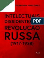 intelectuais dissidentes da Revolução Russa - eBook Intelectuais