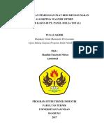 HANIFAH FAUZIYAH NIBRAS (133010024) TEKNIK INDUSTRI - COVER LAPORAN TUGAS AKHIR.pdf