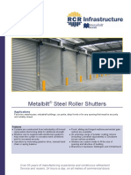 Steel Roller Shutter - Brochure (18.10)