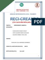 Proyecto Crea, Etapa Ugel-p
