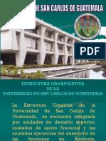 Estructura y Organización de La USAC