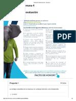Evaluación Examen Parcial Gerencia Estrategica- Semana 4