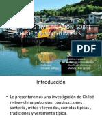 Trabajo de Investigación de Chiloé