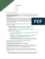 Uso clínico de pruebas de coagulaciónCx
