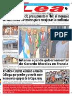 Periódico Lea Lunes 24 de Septiembre Del 2018