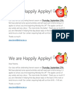 parent note - happily appley