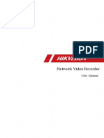 User Manual of Network Video Recorder(1)