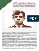 Dia Del Heroe FAP Jose Abelardo Quiñones
