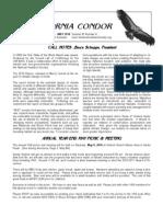 May 2010 California Condor Newsletter - Ventura Audubon Society