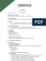 Model RPP Bahasa Inggris 2010 Eksplorasi Elaborasi Dan Konfirmasi SMKN 3 Kudus