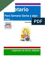 Costa Rica - Recetario Para Semana Santa y Algo Mas - Grecia Valeria Bolaños