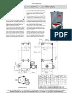 FW40 volumetric feeder