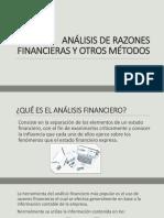 El analisis financiero y otros métodos