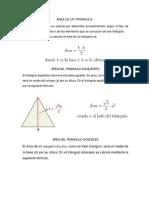 Area de un triangulo