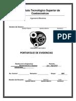 Portafolio de Evidencias ( Mantenimoento a Equipos Inustriales)