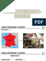 Teorías de Restauración Estilicidio