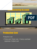 Manufacturing Account