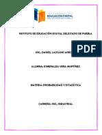 Distribución de Probabilidad y Teoria Generalndel Muestreo