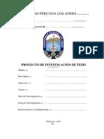 Caratula Proyecto de Investigacion y Tesis