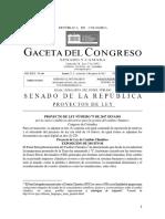 LeyCambioClimático Colombia (ProyectoRadicadoAgsoto2017)