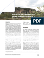 Vargas, Germán. Geomorfología Del PNN Chiribiquete