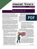 Newsletter - February 2008