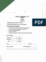 P6 Science SA1 2017 Nan Hua Exam Papers