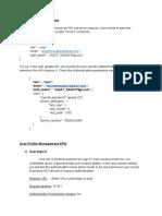 QA Platform Backend APIs