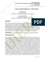 USE OF COPPER SLAG AS FINE AGGREGATE ‐ A CASE STUDY