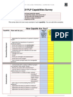 End of PLP Capabilties Survey Printable