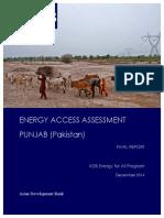 Energy Access Assesment_Pakistan