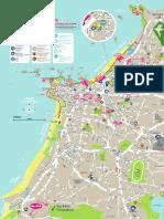 Touristic Map Biarritz