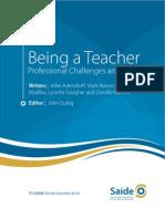 Being a Teacher Guide