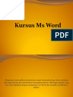 Microsoft Word Paling Baru