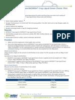 Pilot Scale Fertilizer Coating