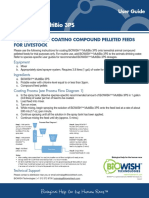 User Guide-MultiBio3PS-Feed Manufacturer in-feed Applications Livestock