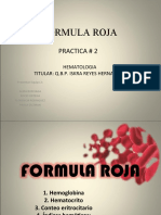 Hemato. Formula Roja Expo Sic Ion