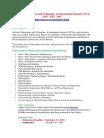 Advanced Nanoscience and Technology newwcfp.docx