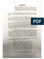 Azcueta Affidavit