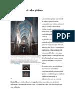 El Arte de Los Vitrales Góticos