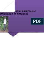 Increase Foreign Direct Investment in Rwanda