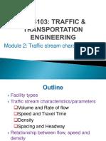Module 2- Traffic Characteristics