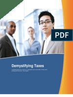 Demystifying Taxes